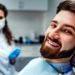 orthodontic dentist and patient